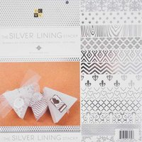 DECOHOBBY Scrapbooking Block The Silver Lining Stack 30,5x30,5cm 48 Blatt