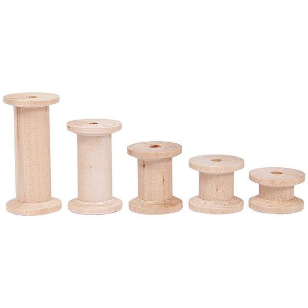 Rico Design Holzspulen 5er Set