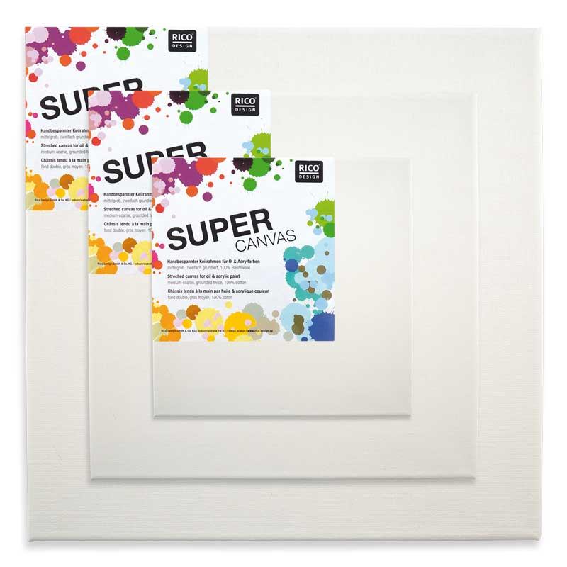 rico design super canvas keilrahmen g nstig online kaufen. Black Bedroom Furniture Sets. Home Design Ideas