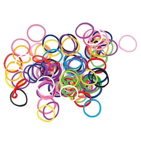 Jewellery Made by Me Loom Bänder Mix mehrfarbig ca. 100 Stück