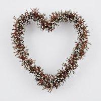 Minibeeren Herz silber 15cm