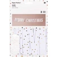 Paper Poetry Girlande Merry Christmas 3m