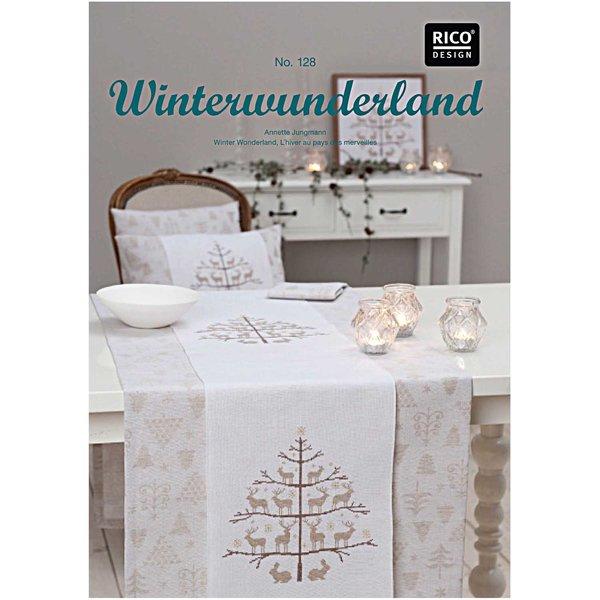 Rico Design Stickbuch Winterwunderland Nr.128