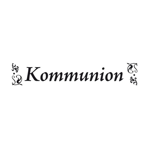 Rico Design Stempel Kommunion 2x9cm