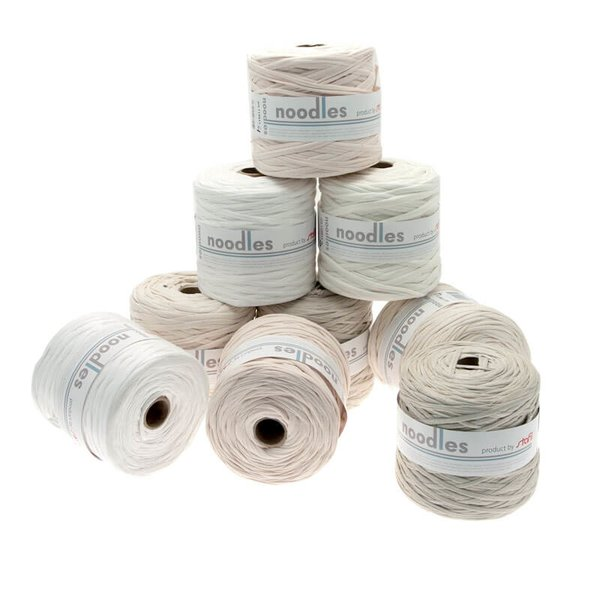 noodles Textilgarn Beigetöne ca. 500-700g