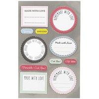 Paper Poetry Etiketten für Marmeladengläser 4 Bogen