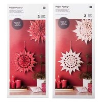 Paper Poetry Bastelset Papiertüten-Sterne Punkte groß