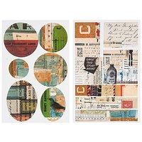 Paper Poetry Vintage Sticker Amerika 13 Stück