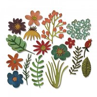 Sizzix Thinlits Die Set Funky Floral by Tim Holtz