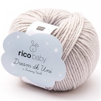 Rico Design Baby Dream dk uni - A Luxury Touch 50g 122m