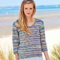 Strickanleitung Pullover aus Fashion Colour Pop