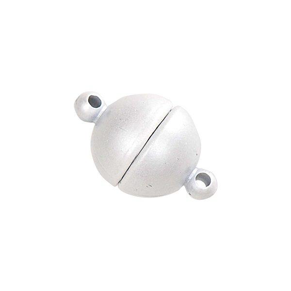 Jewellery Made by Me Magnetverschluß rund weiß 12mm