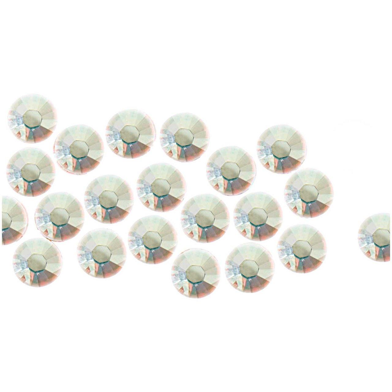 Swarovski® Hot Fix Steine crystal AB 3mm 20 Stück