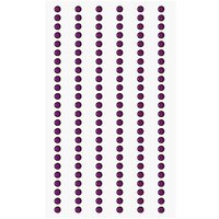 Paper Poetry Strass-Sticker violett 3mm