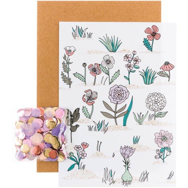 Paper Poetry Grusskartenset Hygge Flowers
