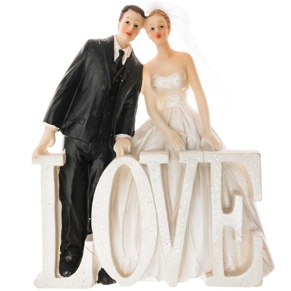 Brautpaar LOVE 13cm