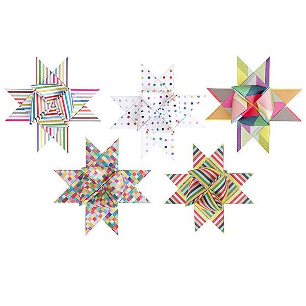 Rico Design Fröbelstreifen XL mehrfarbig 40 Stück