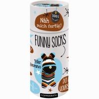 Coppenrath Nähset Funny Socks - Bär Benno