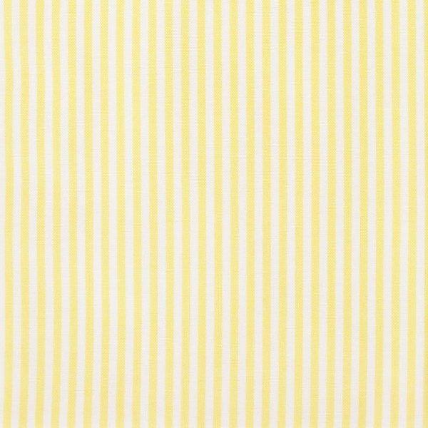 Rico Design Stoff gelb-weiß gestreift 50x55cm