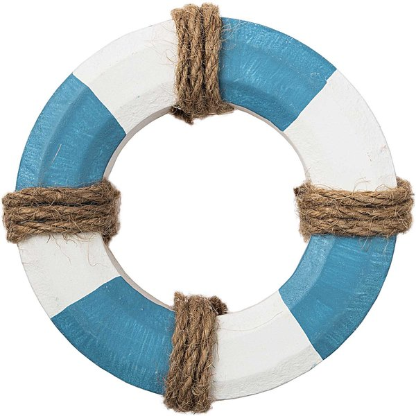 Rettungsring blau-weiß 10cm