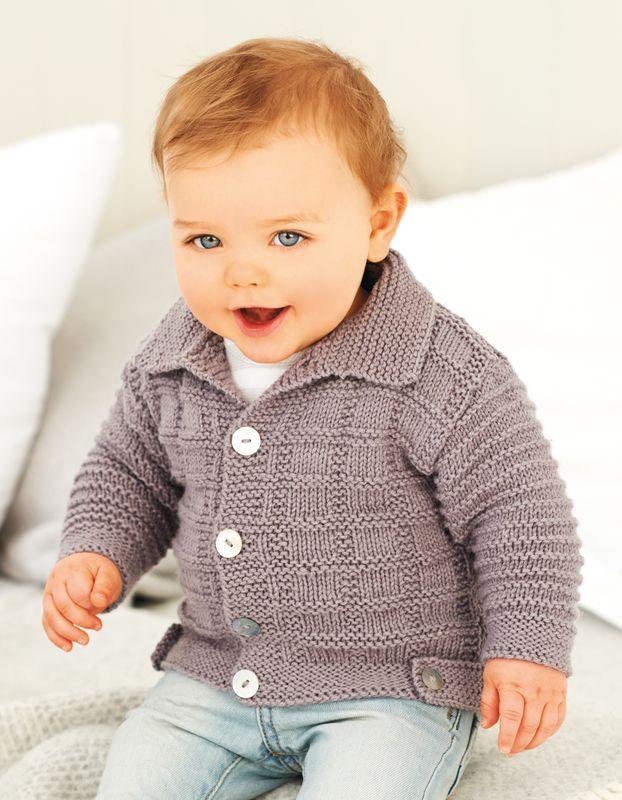 Babyjacke Mit Kragen Stricken Gratis Anleitungen Kostenlos Nutzen