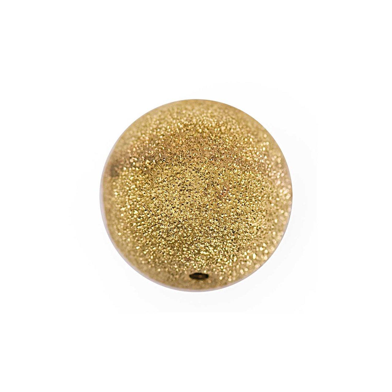 Jewellery Made by Me Metallkugel Glitzer gold 1...
