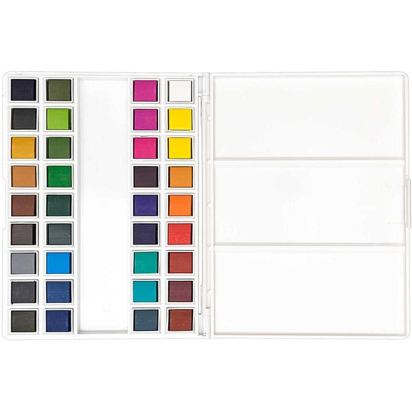 Rico Design ART Künstler Aquarellfarben 36 Farben