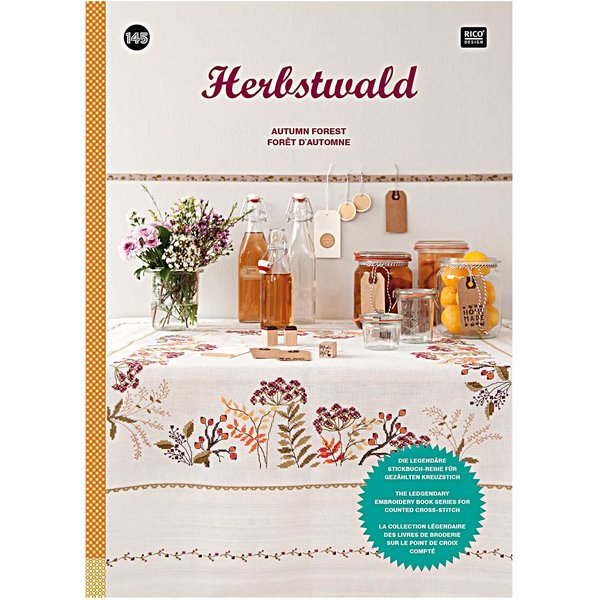 Rico Design Stickbuch Herbstwald Nr.145