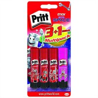 Pritt Klebestift-Set original und neon-color 4-teilig
