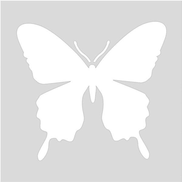 Rico Design Schablone Schmetterling 7,5x7,5cm selbstklebend