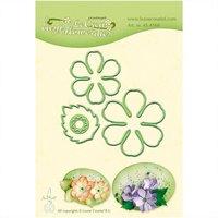 Decohobby Stanz- und Prägeschablone Easy Blume 002