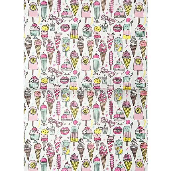 Rico Design Paper Patch Papier Icecream neon 30x42cm
