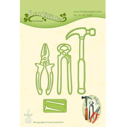 DECOHOBBY Stanz- und Prägeschablone Werkzeug