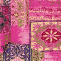décopatch Papier Ornamente pink 3 Bogen