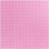 Rico Design Stoff Ornamente pink 50x160cm