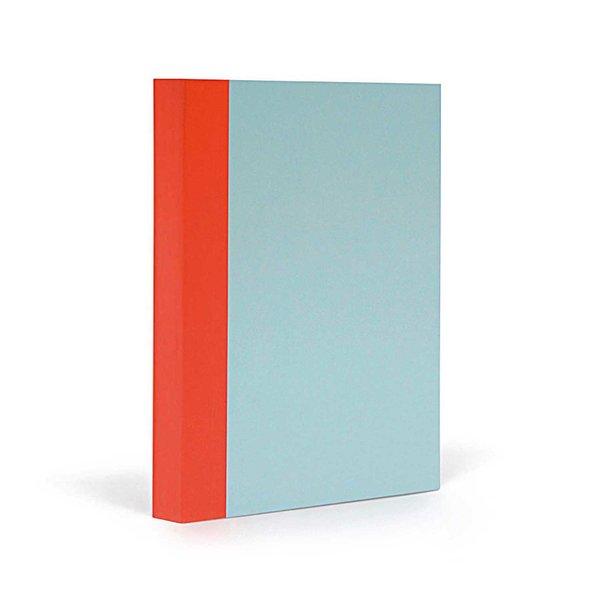 FANTASTICPAPER Notizbuch A5 blanco skyblue-warmred