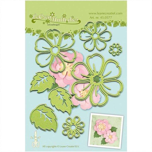 Decohobby Stanz- und Prägeschablone Blume 008