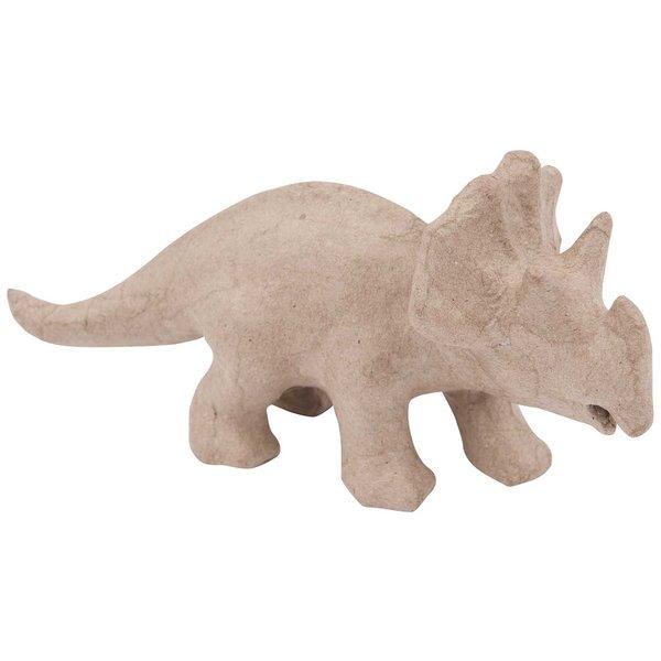 Rico Design Pappmaché Triceratops 20,5x10x7,5cm