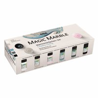 Kreul Magic Marble Marmorierfarben Set Chalky Living 6x20ml