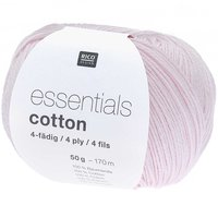 Rico Design Essentials Cotton 4ply 50g 170m