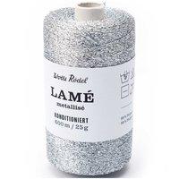 Wolle Rödel Lamé Metallisé dünn 25g 600m