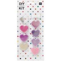 Rico Design DIY Perlenset für Kinder lila-rosa 12x27x1,5cm