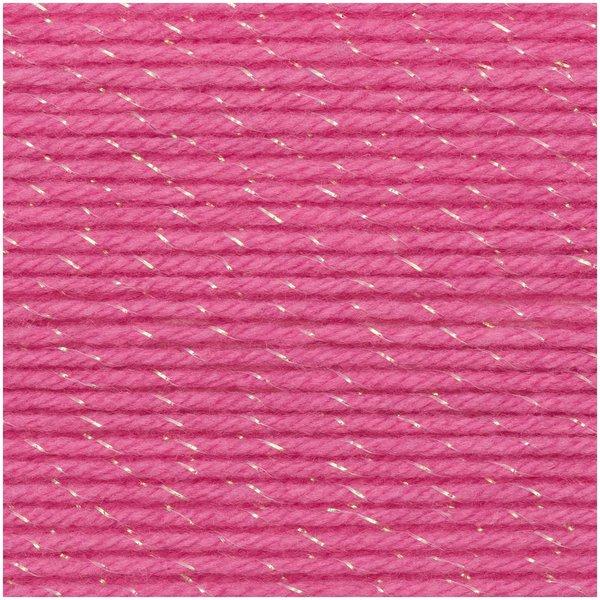 Rico Design Baby Classic Glitz dk pink 50g 165m