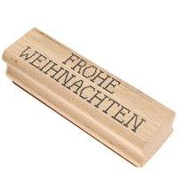 Rico Design Stempel Frohe Weihnachten Kreuzstich 9x2,5cm