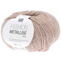 Rico Design Fashion Metallisé aran 50g 150m