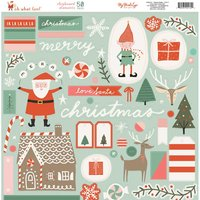 MyMindsEye Oh What Fun - Chipboard Elements