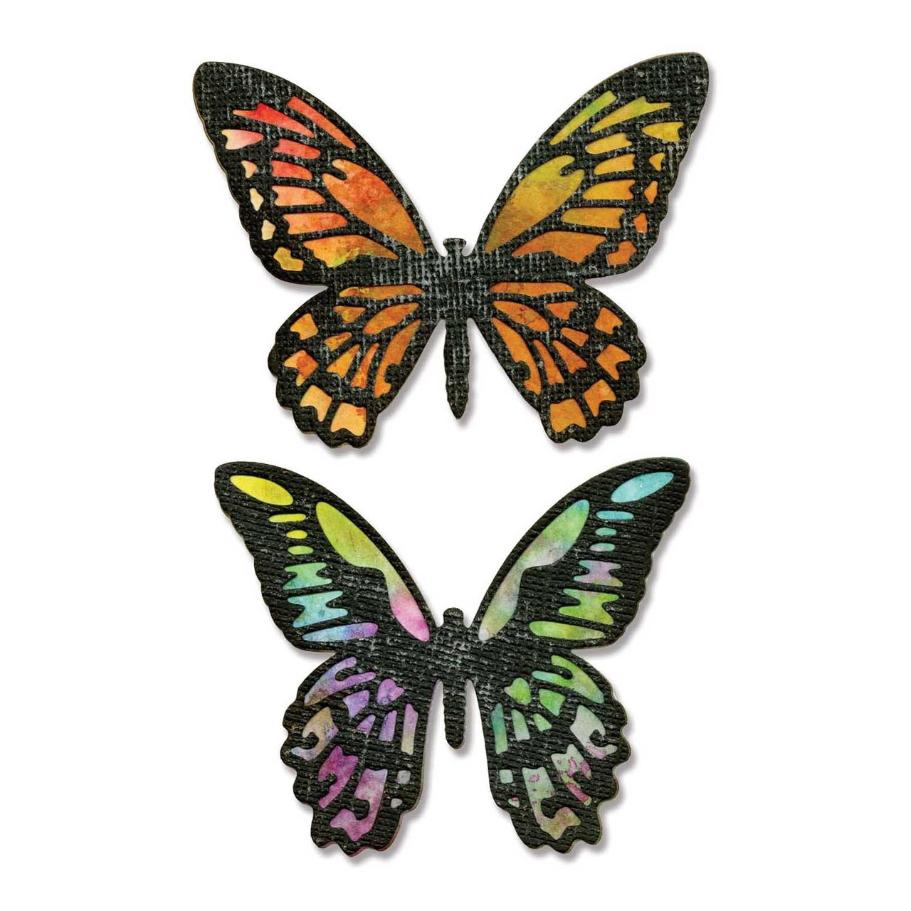 Sizzix Thinlits Die Set Detailed Butterflies
