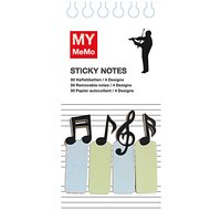 Rico Design Sticky Notes Musiker 120 Stück