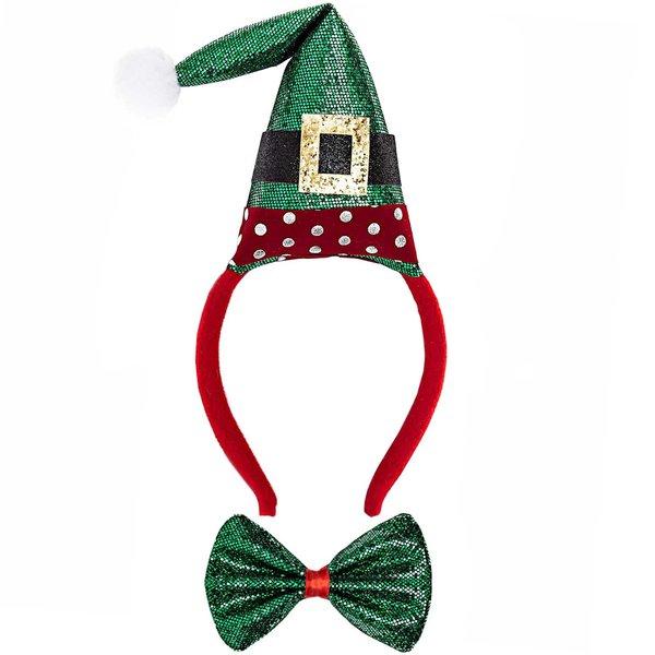YEY! Let's Party Haarreif und Fliege Elf