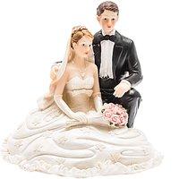 Brautpaar sitzend 13,2cm